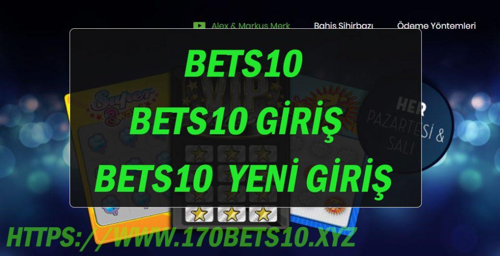 Bets10 - Bets10 Giriş - Bets10  Yeni Giriş